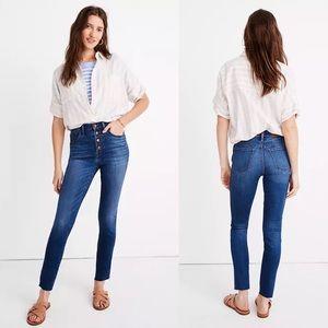 "NWT Madewell 10"" High-Rise Skinny Crop Jeans"